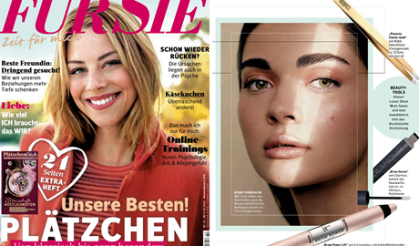 Our Classic Gold Tweezers are suggested by the magazine FÜR SIE